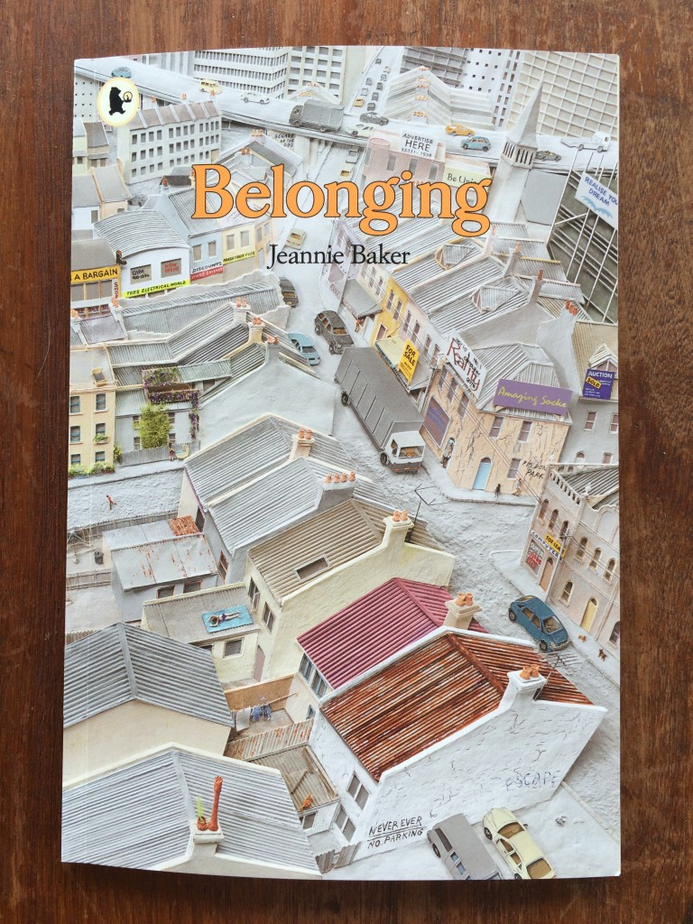Belonging by Jeannie Baker cover