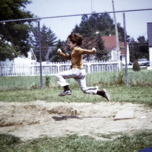 old jumping photo