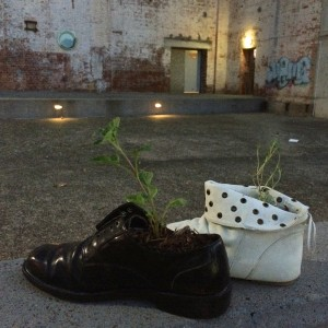 Plant-Sprouting Shoes