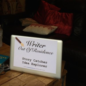 Writer out of Residence Square